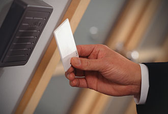 Access key card and hands